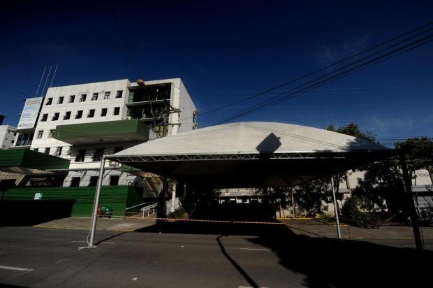 Após ser notificada pela Justiça, prefeitura instala aquecedores nas UPAs de Caxias do Sul Lucas Amorelli/Agencia RBS