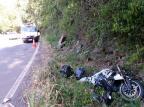 Dois acidentes quase simultâneos deixam duas pessoas mortas em duas cidades da Serra Divulgação/Bombeiros de Picada Café