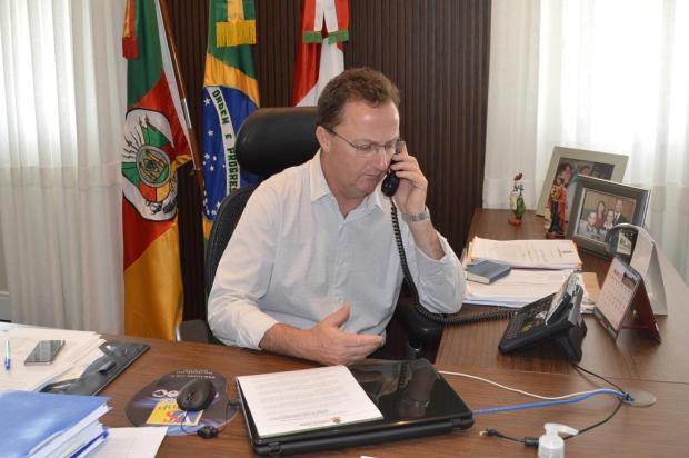 Prefeito de Flores da Cunha critica a falta de discurso único das autoridades sobre o coronavírus Fábio Carnesella/Divulgação