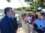 Mauro Pereira volta a aparecer com Bolsonaro Facebook Jair Bolsonaro/Reprodução