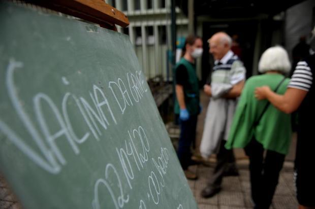 Caxias do Sul já vacinou mais de 36 mil pessoas contra a Influenza Lucas Amorelli/Agencia RBS