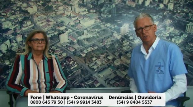 Prefeito de Farroupilha busca novo 1º escalão para o fim do mandato Facebook/Reprodução