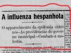 Gripe Espanhola:os conselhos de 102 anos atrás Centro de Memória da Câmara de Vereadores de Caxias do Sul/Reprodução