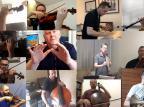 VÍDEO: UCS Orquestra grava performance com músicos tocando de casa Reprodução/
