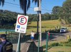 Guarda Municipal faz ronda em parques para conscientizar caxienses a ficarem em casa Divulgação GM/Divulgação
