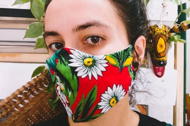 Saiba como fazer uma máscara de pano sem máquina de costura Divulgação / Marias Lavrandeiras/Marias Lavrandeiras