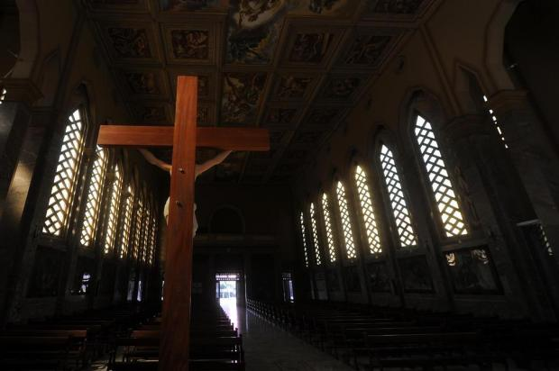 Diocese de Caxias do Sul autoriza retomada de missas com a presença de fiéis Marcelo Casagrande/Agencia RBS