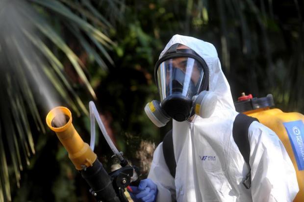 Empresário caxiense cria startup para desinfecção de ambientes contra o coronavírus Lucas Amorelli/Agencia RBS
