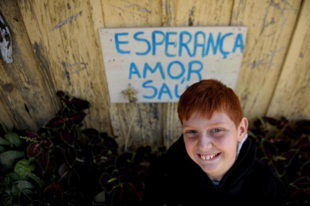 Menino de 11 anos doa R$ 21,45 para o hospital de Antônio Prado Lucas Amorelli/Agencia RBS