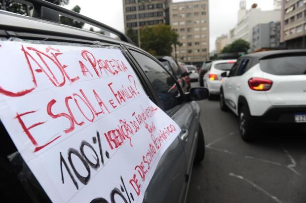 Carreata pede desconto em mensalidades escolares em Caxias do Sul durante isolamento Antonio Valiente/Agencia RBS