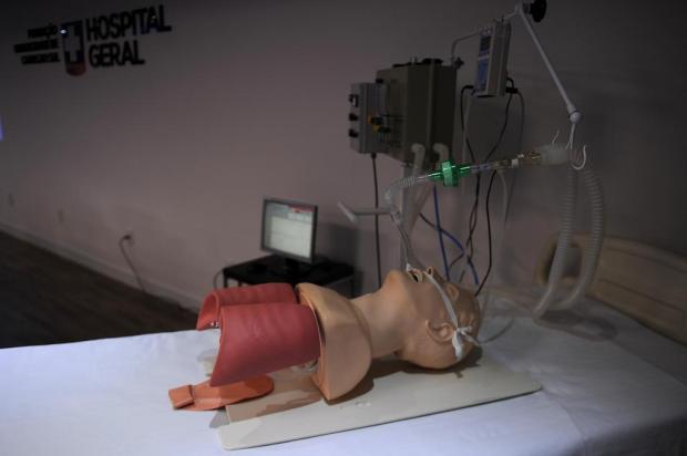 Projeto da UCS é selecionado em edital nacional para produção de ventiladores respiratórios de baixo custo Marcelo Casagrande/Agencia RBS