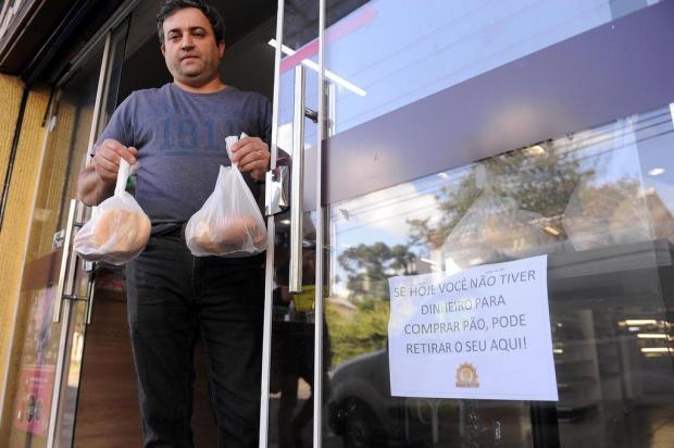 Padaria de Caxias do Sul disponibiliza pães para quem não tem condições de pagar Marcelo Casagrande/Agencia RBS