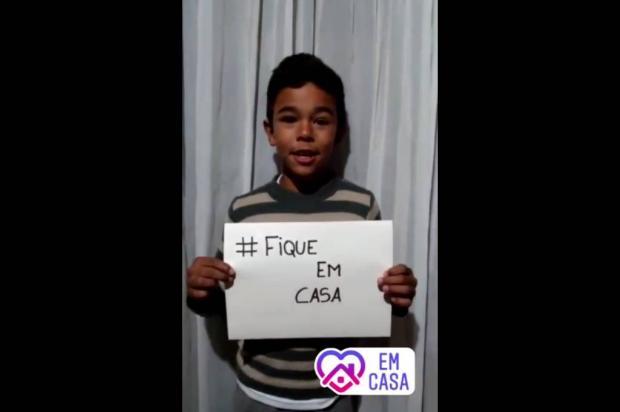 VÍDEO: Forqueta lança campanha #fiqueemcasa com participação da comunidade Reprodução / Facebook / Amob Unidos por Forqueta/Facebook / Amob Unidos por Forqueta
