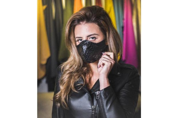 Máscaras poderão estar nas coleções de moda Lucas Dal Pizzol / Divulgação/Divulgação