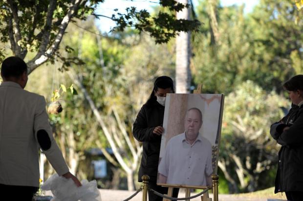 """""""Ele lutou esses 30 dias"""", disse esposa de idoso que morreu de covid-19 na Serra Lucas Amorelli/Agencia RBS"""