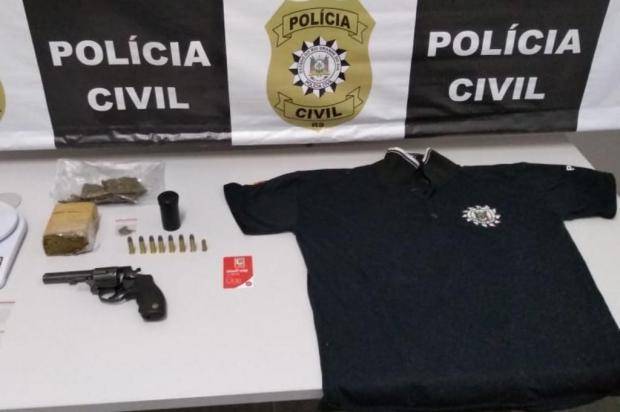 Suspeito de assassinato de mulher no Monte Carmelo é preso em Caxias Polícia Civil/Divulgação
