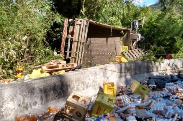 Homem morre em acidente na BR-116 em Campestre da Serra Polícia Civil/Divulgação