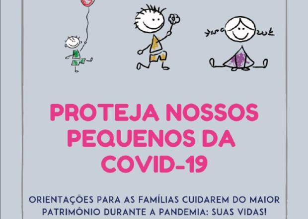 Pediatra de Bento Gonçalves cria e-book para orientar os pais sobre o coronavírus Reprodução / Reprodução/Reprodução