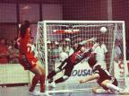 Jogos marcantes: Título da Enxuta marca última grande decisão do Ginásio Pereirão Porthus Junior/Agencia RBS