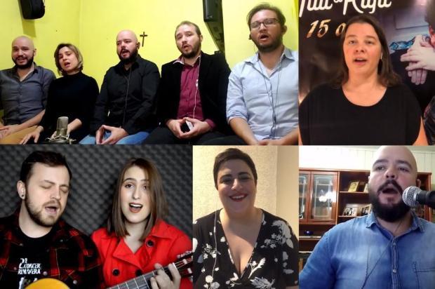 VÍDEO: confira performances online das orquestras da UCS e de Bento Reprodução/Reprodução