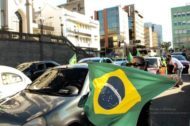 Movimento em Caxias adere à carreata nacional favorável a Bolsonaro e contra o presidente da Câmara dos Deputados Mateus Frazão/Agencia RBS