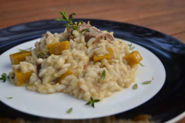 Para não ir fora: aprenda a fazer risoto de moranga com carne do churrasco Destemperados/