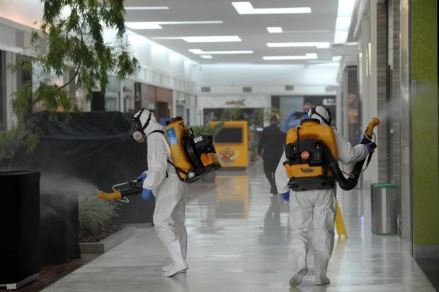 Iguatemi Caxias passou por higienização antes de abrir Lucas Amorelli/Agencia RBS