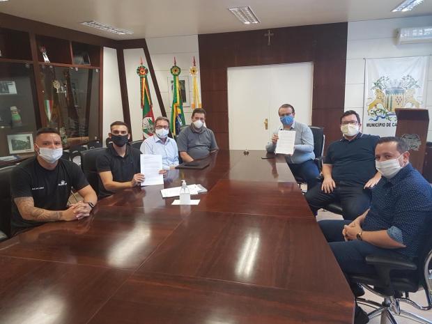 Donos de quadras esportivas pedem reabertura dos seus estabelecimentos em Caxias do Sul Gusthavo Vieira / Divulgação/Divulgação