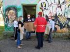 Grupo distribuiu dois mil pães a famílias em vulnerabilidade de Caxias Lizie Antonello / Agência RBS/Agência RBS