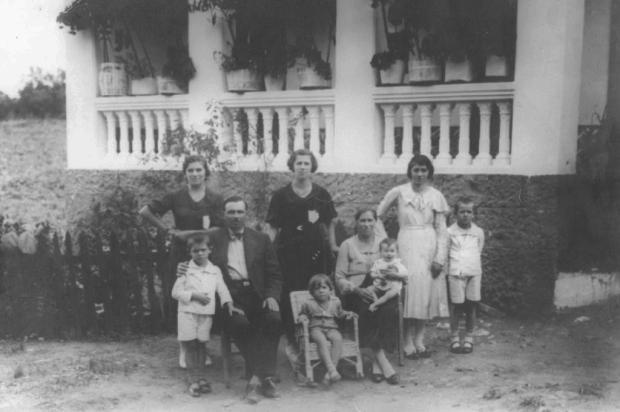 Bairro Lourdes: a família de João Zandomeneghi Acervo de família/Divulgação