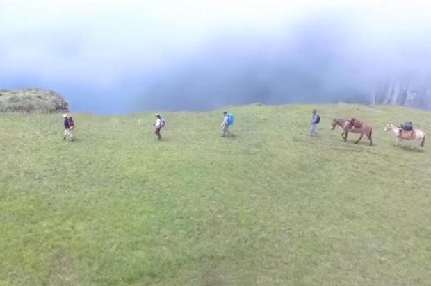 Filme sobre trekking nos cânions da Serra está disponível no YouTube Cine Travel/Divulgação