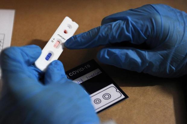 Nova rodada de pesquisa da UFPel testa moradores de Caxias para o coronavírus Marcelo Casagrande/Agencia RBS