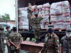 Caxias recebe mais de 2 mil cestas básicas destinadas às famílias de estudantes da rede estadual Viviani Vanessa Devalle / Divulgação/Divulgação