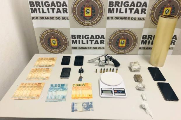 Em operação com helicóptero, quatro são presos por tráfico de drogas em Caxias do Sul Brigada Militar / Divulgação/Divulgação