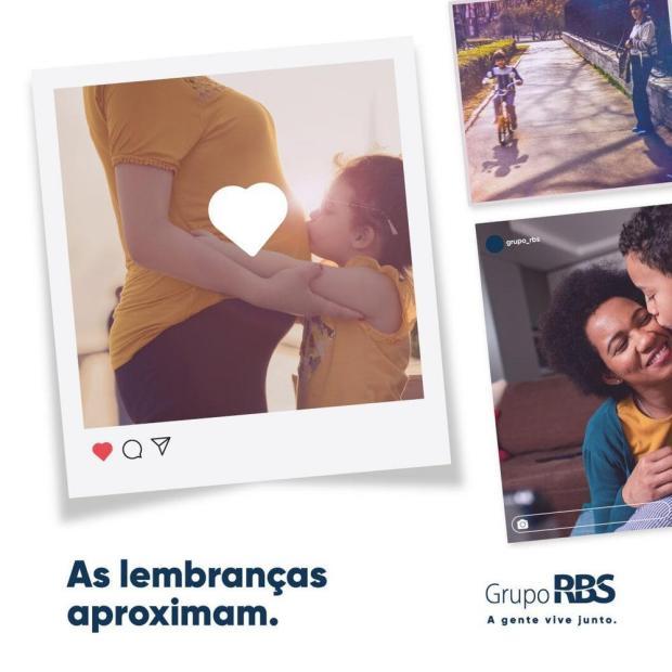 RBS convida público a participar de campanha de Dia das Mães pelas redes sociais RBS/Divulgação