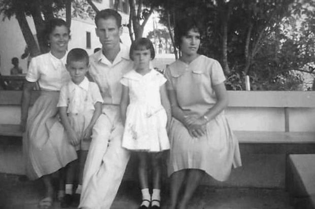 Lourdes: o álbum da família Demori Acervo de família/Divulgação