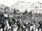 Praça Dantedurante a Festa da Uva de 1937 Foto Mancuso,acervo de Renan Carlos Mancuso/Divulgação