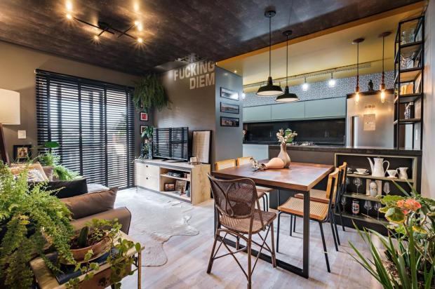 Casa & cia: inspirado no conceito 'hygge', apartamentoem Caxias evidencia conforto e personalidade Guilherme Jordani/Divulgação