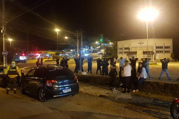 Cinco bares são fechados e 14 motoristas são flagrados embriagados em Caxias do Sul Secretaria de Urbanismo/Divulgação