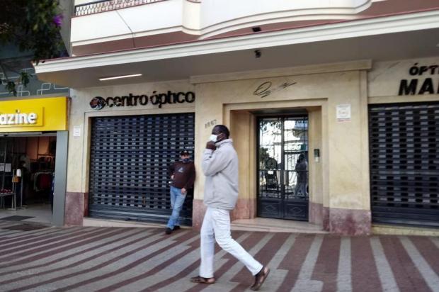 Cem pessoas foram multadas em um mês pela falta do uso de máscaras nas ruas de Caxias do Sul Aline Ecker/Agência RBS