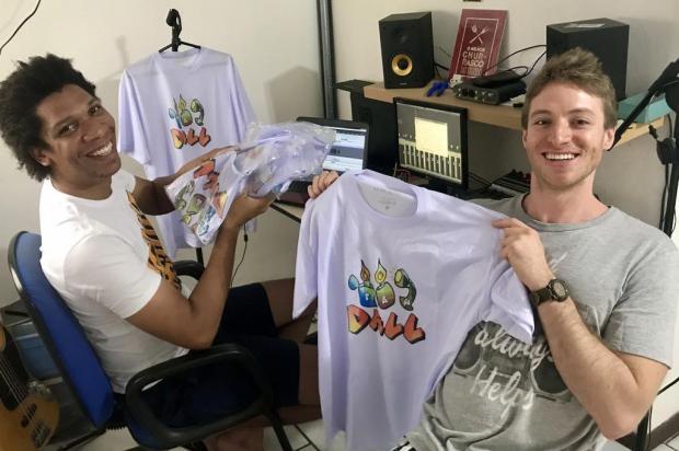 Banda vende camisetas com renda revertida a iniciativas de combate à covid-19 Divulgação/Divulgação