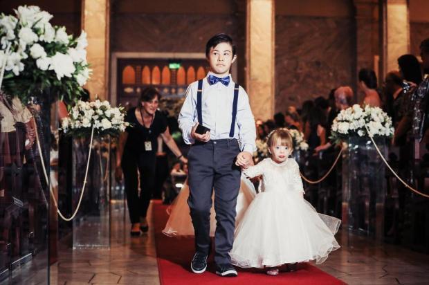 VÍDEO: participação de crianças com Down em casamento de Caxias faz sucesso nas redes Silas Abreu/Divulgação