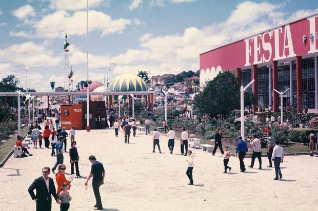 Festa da Uva 1972: o último ano do pavilhão da Alfredo Chaves Hildo Boff/acervo pessoal de Ricardo Boff,divulgação