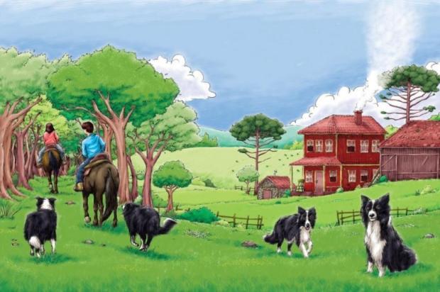 """Livro """"O Velho Rancho"""" referencia paisagens dos Campos de Cima da Serra Arte de Adan Marini/Divulgação"""