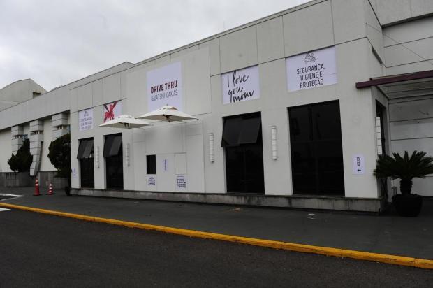 Shopping de Caxias entrega mercadorias por sistema drive thru Porthus Junior/Agencia RBS