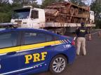 Caminhão com destino a Caxias é abordado em SC após passageiro com coronavírus fugir de hospital em Goiás Divulgação / PRF/PRF