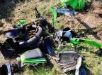 Motociclista morre no hospital depois de bater contra paredão de pedra no interior de Nova Petrópolis Bombeiros Voluntários de Nova Petrópolis/Divulgação