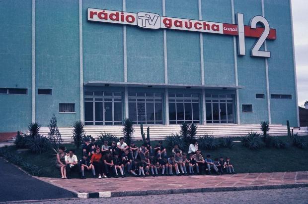 Expresso Caxiense: uma visita à TV Gaúcha - Canal 12 em 1965 Hildo Boff/Acervo de família,divulgação