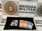 Homem é preso com 42 buchas de cocaína em Farroupilha Brigada Militar/Divulgação