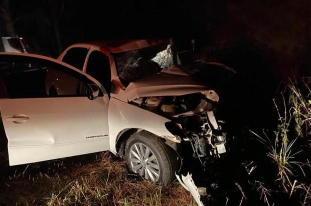 Mulher ferida em acidente perde mãe, marido e filha após colisão na BR-116 em Vacaria Polícia Civil/Divulgação